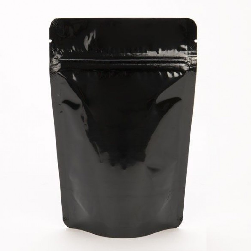 150g Black Stand Up Pouch