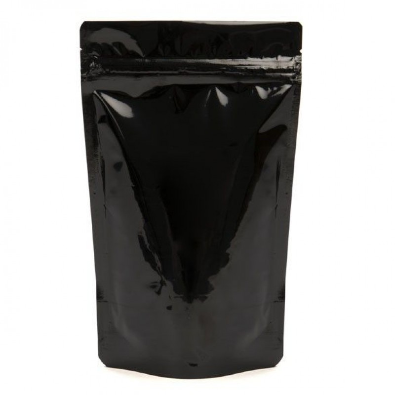 250g Black Stand Up Pouch