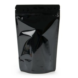 500g Black Stand Up Pouch