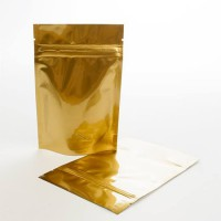 250g Gold Stand Up Pouch