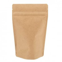 250g Kraft Paper Stand up Pouch
