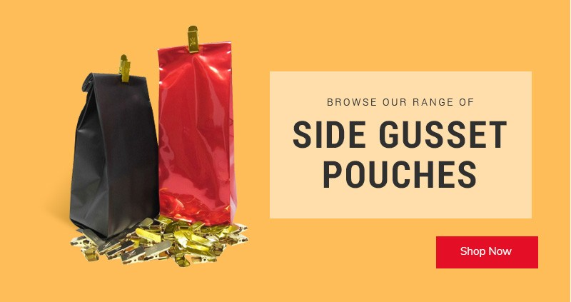 Side Gusset Pouches