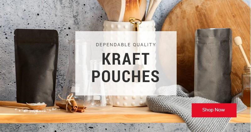 Kraft Pouches