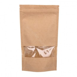 150g Window Kraft Paper Stand up Pouch